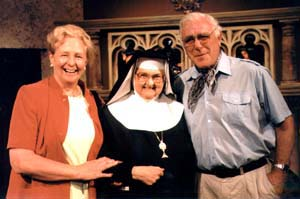 Wendy and Paddy Nolan with Mother Angelica founder of EWTN