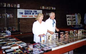 Paddy and Wendy Nolan at the Exhibition Booth